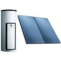 Незакипающая солнечная система для приготовления горячей воды Vaillant auroSTEP/4 plus 1.150 HT наклонная крыша (0020202932)