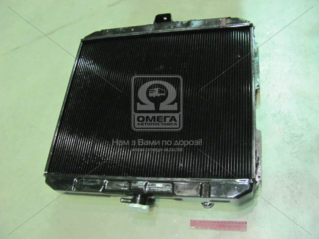 Радиатор водяного охлаждения ГАЗ 33104 ВАЛДАЙ (2-х рядн.) (пр-во г.Оренбург), 33104-1301010-30