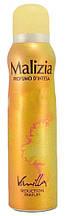 Дезодорант парфумований жіночий Malizia Vanilla150мл.
