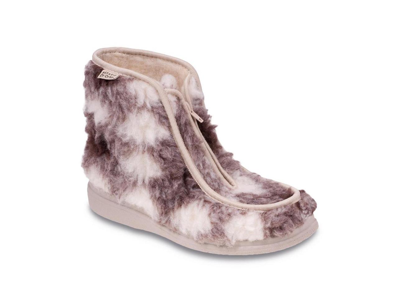 Купить Зимние ботинки диабетические, для проблемных ног мужские DrOrto 996 M 009, Befado