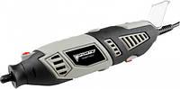Гравер ручной с набором инструмента 218 шт. в пластиковом кейсе FORTE MG 17218
