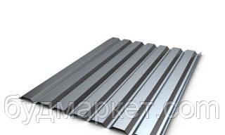 Профнастил стеновой ПС-10 оцинкованный 0.4 мм (1195/1160*2000 мм)