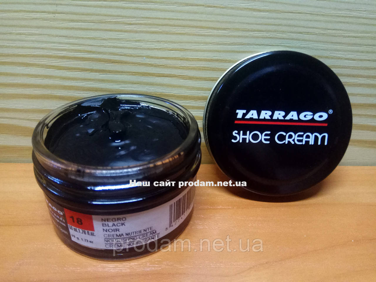 Крем для обуви Tarrago №018 черный