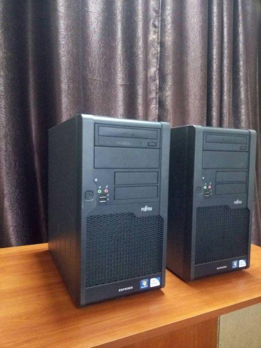 Системный блок компьютер FUJITSU E5500 RAM 4ГБ Radeon HD 3450