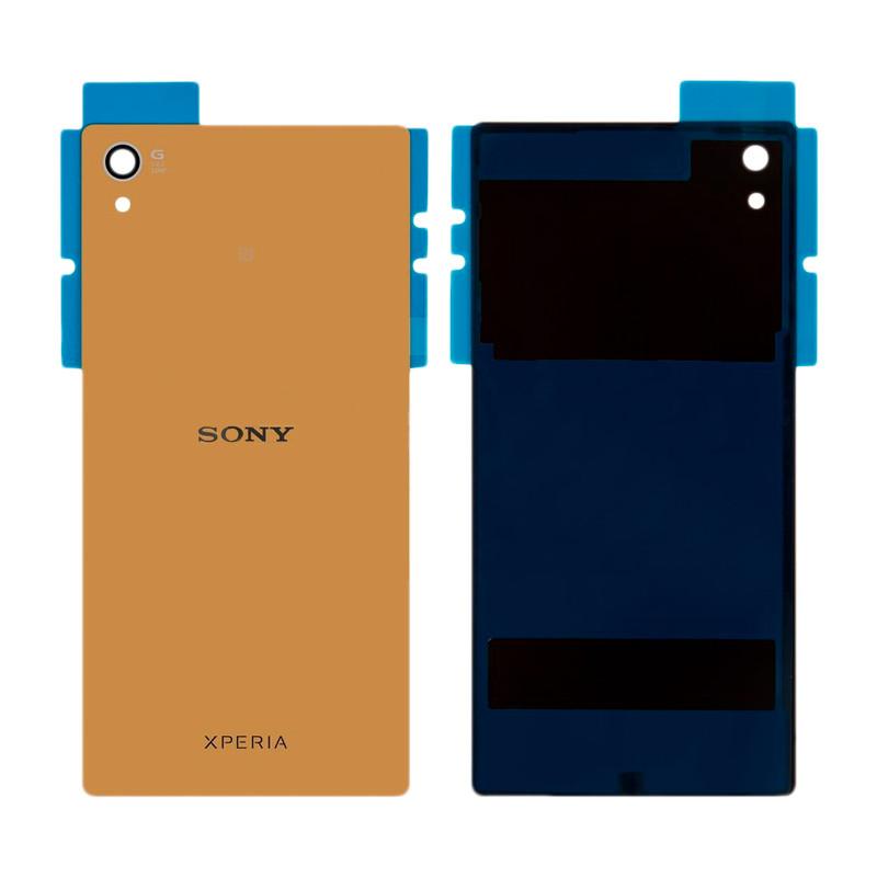 Задняя крышка Sony E6883 Xperia Z5 Premium Dual золотистая OR