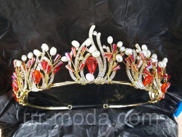 Бижутерия RRR свадебные тиары, короны, диадемы Сваровски оптом.