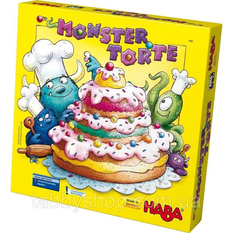 """Настольная игра HABA """"Торт для монстра"""""""