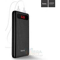 Внешний аккумулятор (Power Bank) Hoco Mige 20000mAh, 2xUSB, фонарик, цифровой индикатор, фото 1