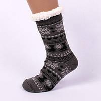 Чоловічі тапочки-шкарпетки з антиковзною поверхнею 44-46 р