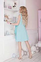 "Летнее мини-платье на запах ""TORINO"" без рукавом, фото 2"