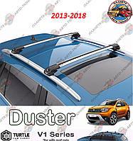 Перемычки на рейлинги Renault Duster 2013-2018 (багажник) рейлинг