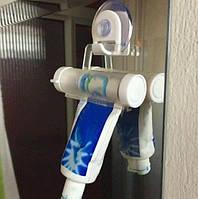 Выдавливатель пасты помогает максимально и оптимально выдавливать зубную пасту БЕЛЫЙ SKU0000997