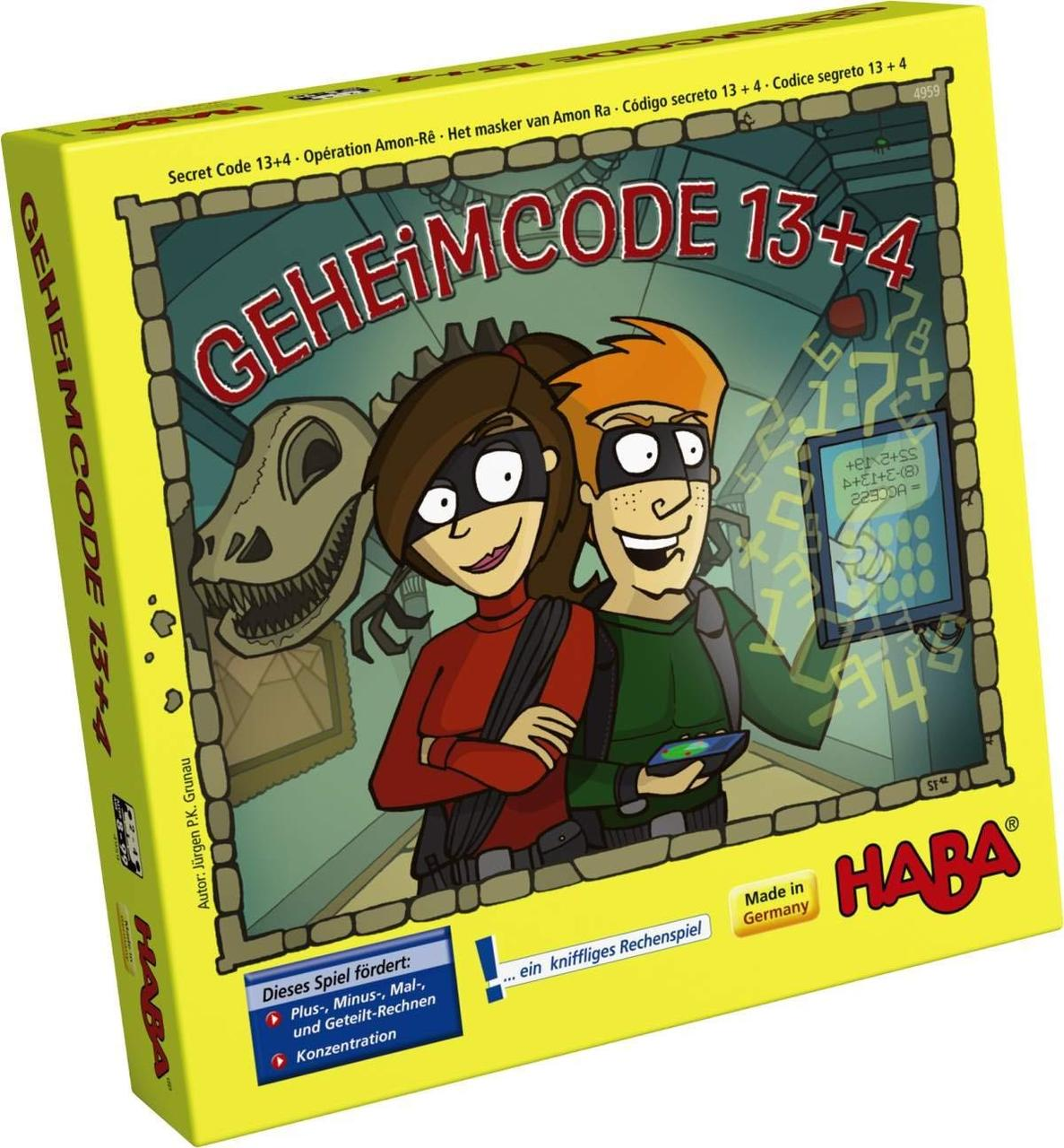 """Настольная игра HABA """"Секретный код"""""""