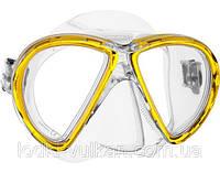 Маска для дайвинга Mares X-VU (желтая)
