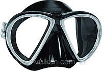 Маска для ныряний X-VU BK BK (черная)