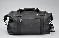 Большая стильная кожаная дорожная сумка D1-(023-1)