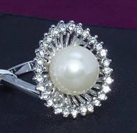 Великолепная позолота 18 перстня синтетических алмазов унисекс