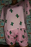Пижама с кактусами