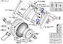 Звездочка приводная металлическая Z-16, фото 2