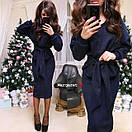 Женский вязаный юбочный костюм  91pk17, фото 5