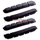 """Накладки тормозные BBB BBS-06 """"Vee Stop"""" чёрные, комплект 4 шт, фото 2"""