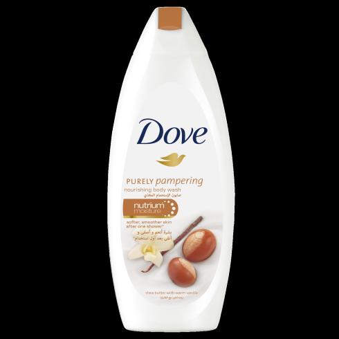 """Крем-гель для душа Dove """"Масло ши и пряная ваниль"""" (250мл.)"""