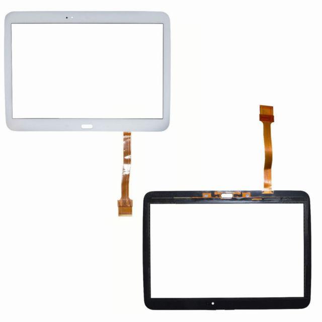 Сенсорний екран для планшету Samsung P5200 P5210 Galaxy Tab 3, тачскрін білий