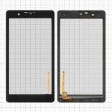 """Сенсорний екран для планшету Tablet PC 7"""", Impression ImPAD 6414, тачскрін з рамкою чорний, 189x99mm 6pin, #MB708M5/HLD-PG71"""
