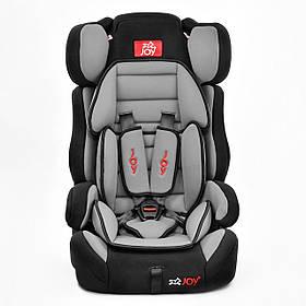 Автокресло универсальное Joy 9-36 кг Черный с серым (GBE -00007)