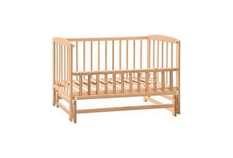 Детская кроватка маятник нелак