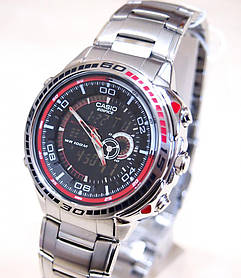 Часы CASIO EDIFICE EFA-121D-1AVEF Серебристый (0А00055)