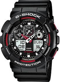 Мужские часы CASIO GA-100-1A4ER Черный (0А00011)