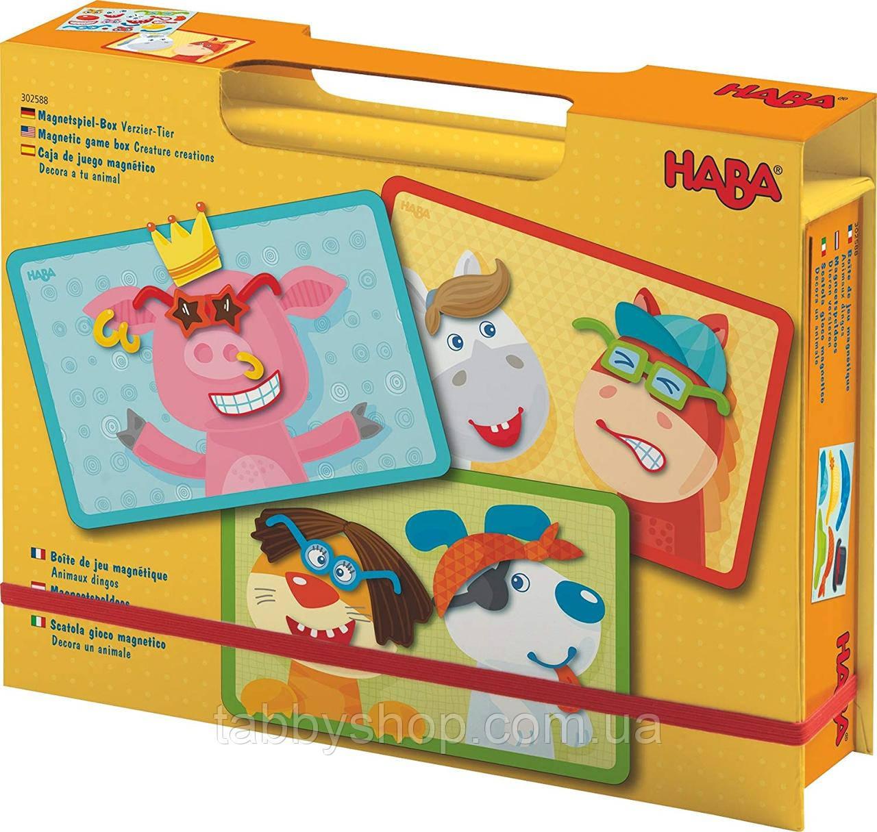 """Магнитная игра HABA """"Смешные животные"""""""
