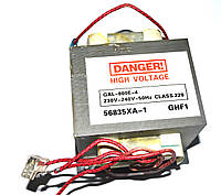 Трансформатор высоковольтный для микроволновки универсальный GAL-800E-4 (800W)