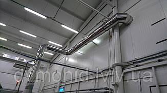 Проектування та виготовлення вентиляційних систем з нержавіючої сталі для промисловості від виробника