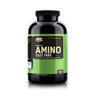 Optimum Nutrition, Амино Superior Amino 2222 tabs, 160 таблеток