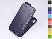 Откидной чехол из натуральной кожи для Apple iPhone XS Max