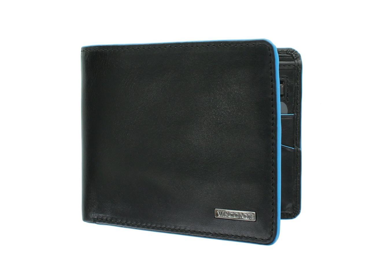Мужское портмоне без застежки Visconti ALP85 (Великобритания)