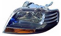 Фара правая Chevrolet Aveo I (T200, хэчбэк) (дорестайл) с 2003 - 2008 коррек: электрический, (DEPO, 222-1112L-LEMN2) - шт.