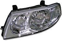 Фара левая Nissan Almera Classic с 2006 - коррек: электрический, (DEPO, 215-11B7L-LDEMN) - шт.