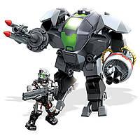 """Конструктор Хало Штурмовик """"Управление Циклопами"""", 76дет. - Halo, Heavy Assault Cyclops, Mega Bloks"""