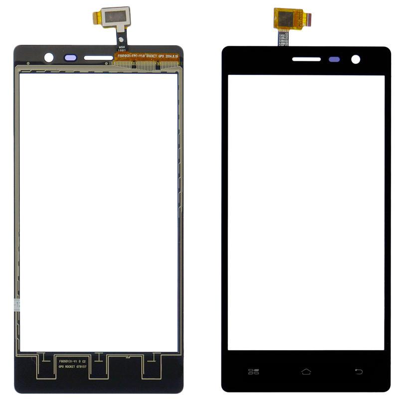 Сенсорный экран (тачскрин) Gigabyte GSmart Mika MX Black