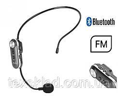 Бездротовий мікрофон на голову K380 - гарнітура FM(89.3 MHz) + Bluetooth