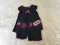 Костюм для девочки. Платье и шорты