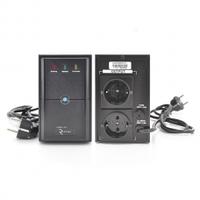 ИБП Ritar E-RTM850 (510W) ELF-L, LED, AVR, 2st, 2xSCHUKO socket, 1x12V9Ah, metal Case