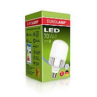 Лампа LED высокомощная EUROLAMP 70W E40 6500K