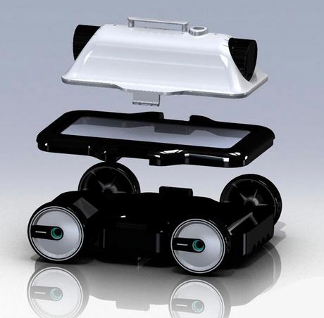 вакуумный робот–пылесос Bridge Mia