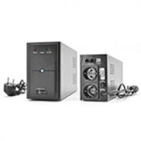 ИБП Ritar E-RTM800 (480W) ELF-L, LED, AVR, 2st, 2xSCHUKO socket, 1x12V9Ah, metal Case