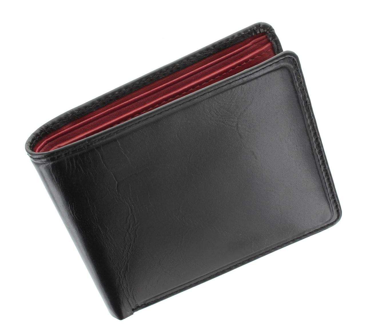 Двухцветный кошелек Visconti TR30 black/red (Великобритания)