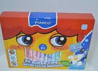 Фломастеры Marco 36цв Super Washable №1630-36
